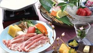 白鹿クラシックスレストラン春のメニュー